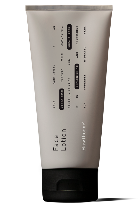 Front of Ultra Rich Face Lotion bottle
