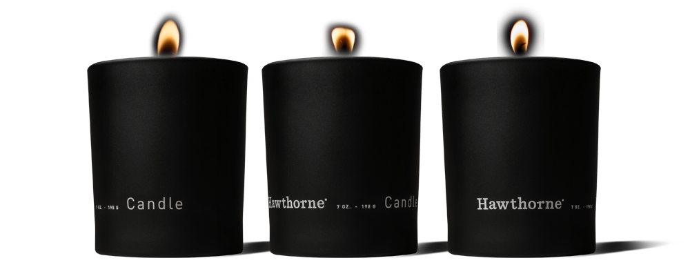 A pleasing image of the Dark And Woody Candle Set product